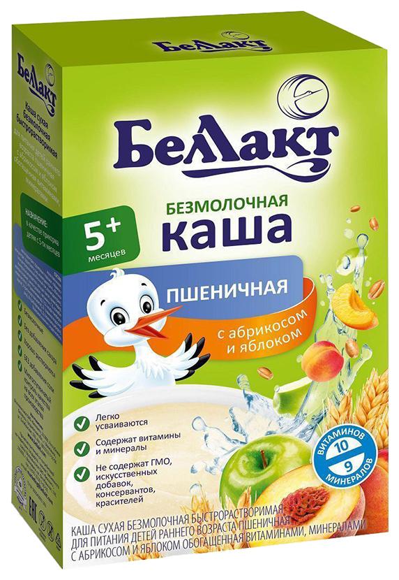 Купить Каша Беллакт пшеница абрикос яблоко 200/20, Детские каши