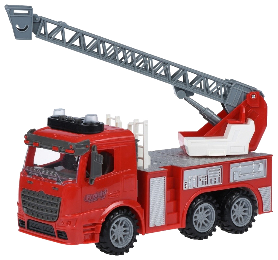 Купить Строительная техника JUNFA Грузовик с выдвижной лестницей 98-616A, Junfa toys