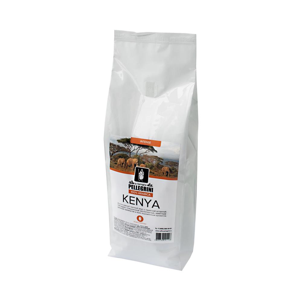 Кофе зерновой La famiglia Pellegrini Kenya 1000 г