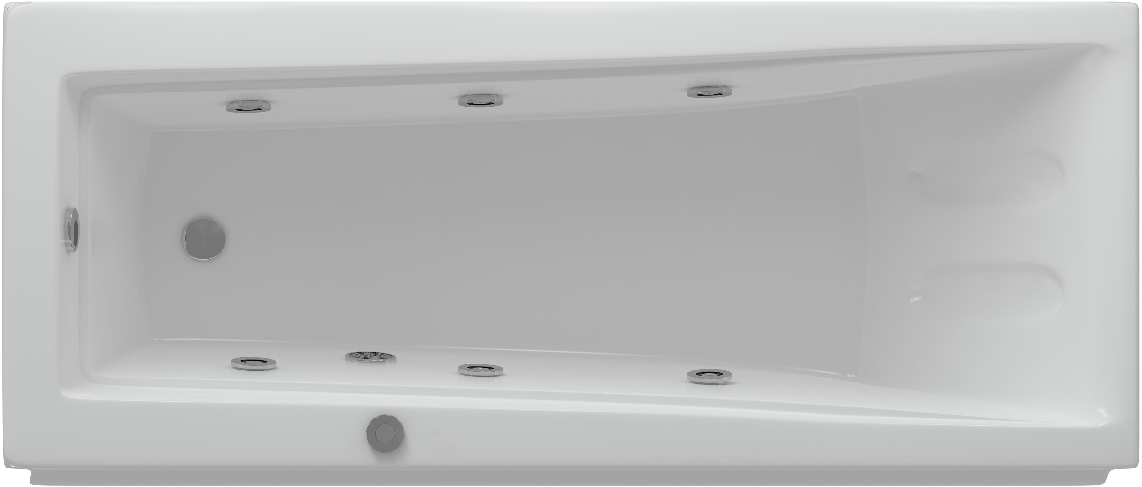 Акриловая ванна Aquatek LIB150-0000008 Либра-150 с гидромассажем