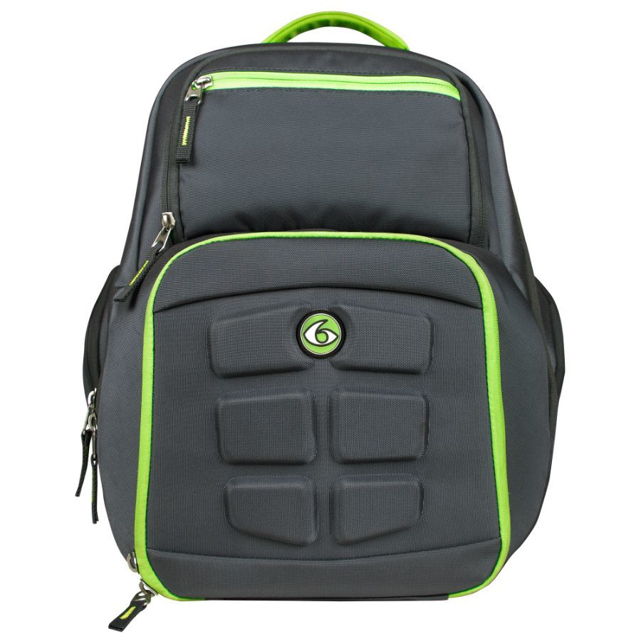 Рюкзак Six Pack Fitness Expedition Backpack 300 Grey/Green