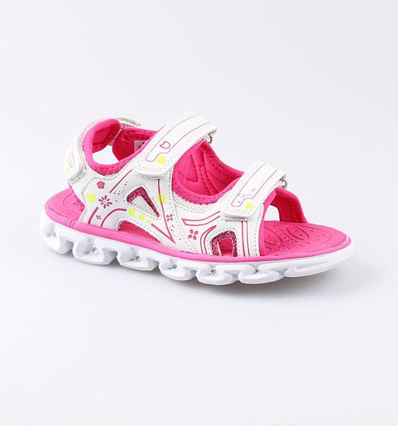 Пляжная обувь Котофей для девочки р.35 524049-13 белый