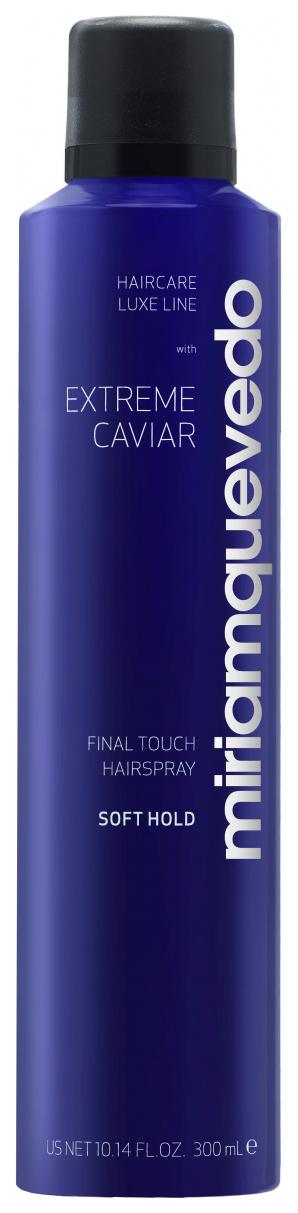 Лак для волос Miriamquevedo Extreme Caviar Final Touch Hairspray Soft Hold 300 мл