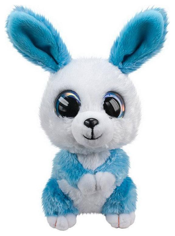 Купить Мягкая игрушка Tactic Кролик Ice, голубой, 15 см, Мягкие игрушки животные