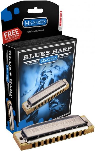 Губная гармоника диатоническая HOHNER Blues Harp 532/20 MS A фото