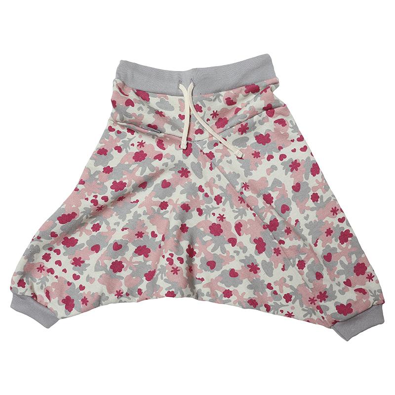 Купить ШТФ-МЛТ-Г, Брюки детские Bambinizon Милитари ШТФ-МЛТ-Р р.116 розовый, Детские брюки и шорты