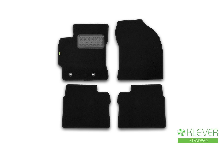Коврики в салон Klever Standard для TOYOTA Corolla 2013, 4 шт. текстиль