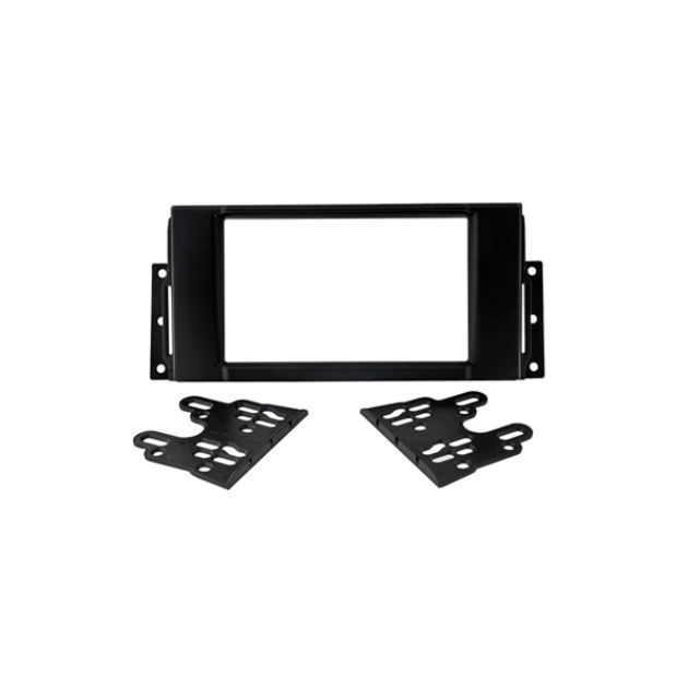 Переходная рамка для автомагнитолы Intro RGW-N01 для Great Wall Hover H5 2010 - 2016, RLR-N03 для Land Rover Freelander-2 (2006 - 2017) / Discovery-3, 4 (2004 - 2017), Incar (Intro)  - купить со скидкой