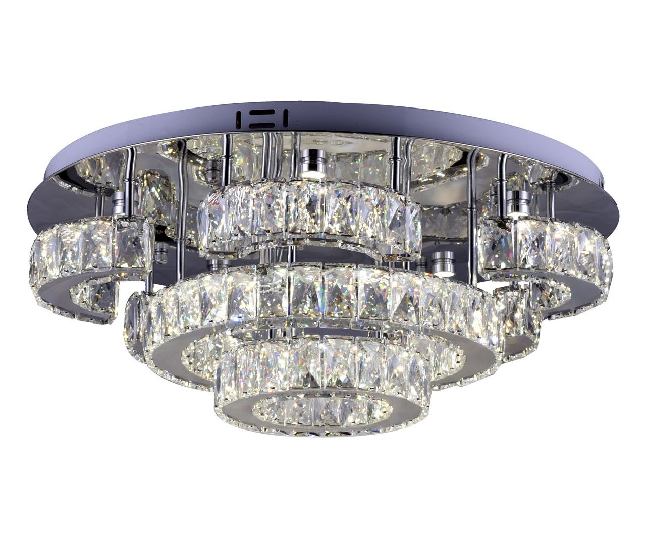 Потолочный светодиодный светильник Kink Light Тор-Кристалл 08611(3000-6000K) фото