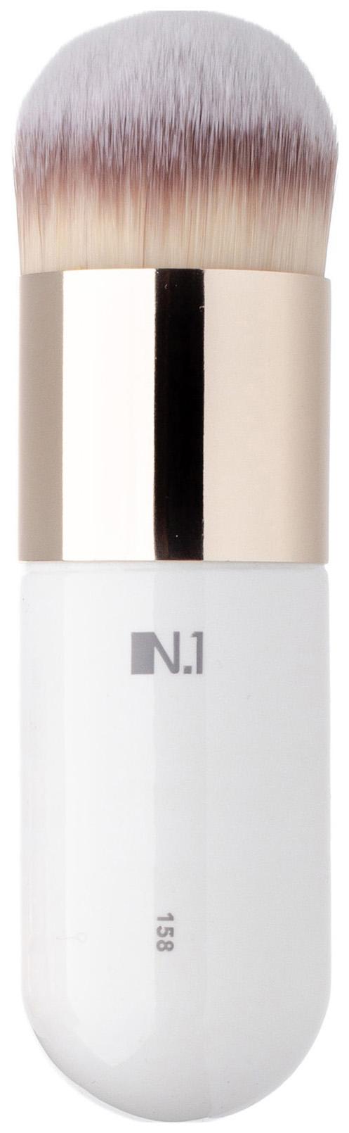 Кисть для макияжа N.1 Округлая кабуки из ворса таклон №158