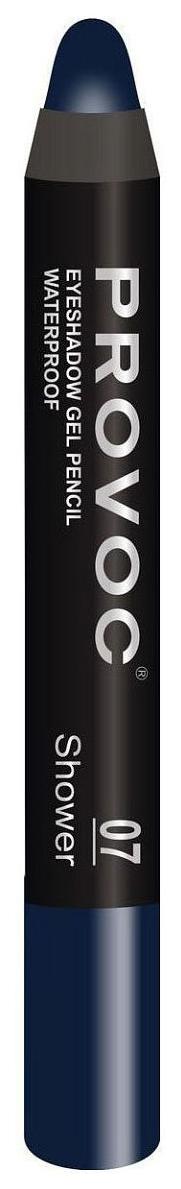Купить Тени для век Provoc Waterproof Eyeshadow Gel Pencil 07 Сапфировый 2, 3 г