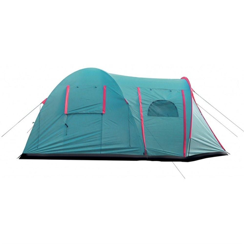 Палатка Tramp Anaconda 4 V2 зеленый Цвет зеленый