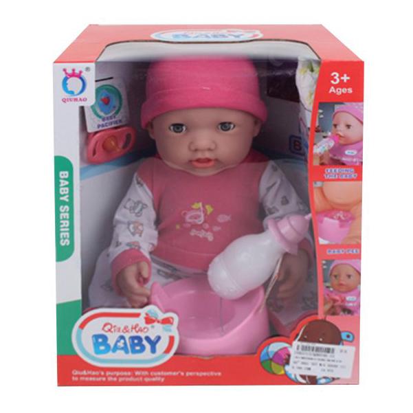 Купить НАША ИГРУШКА Пупс озвученный Малышка, 40 см QH6046-10, Наша игрушка, Пупсы