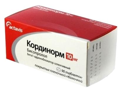 Кординорм таблетки 10 мг 90 шт.