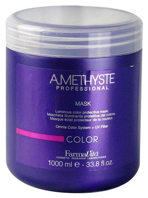 Маска для ухода за окрашенными волосами Farmavita Amethyste color mask 1000 мл