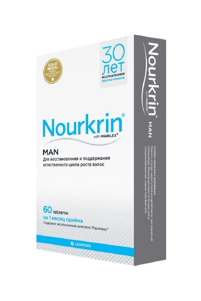 Купить Нуркрин Scanpharm для мужчин таблетки 60 шт.