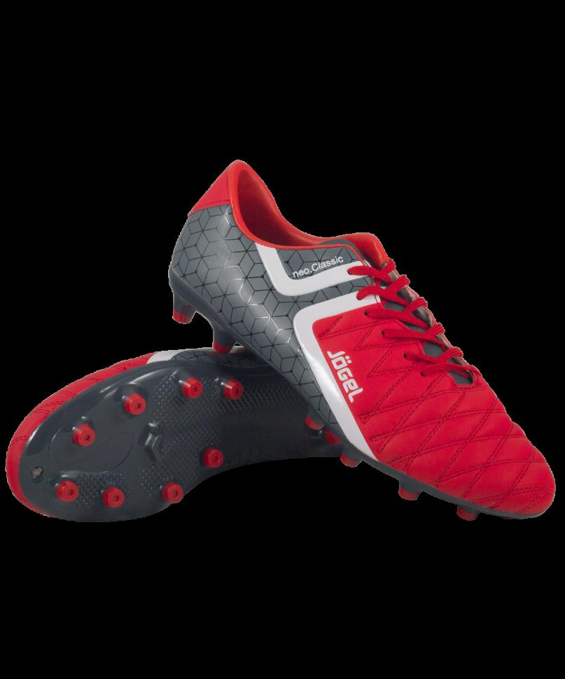 Футбольные бутсы Jogel Mondo JSH1002, красные, 44 EU