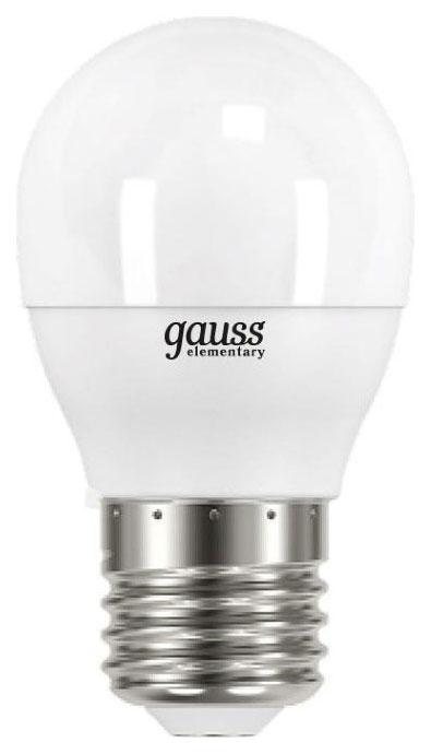 Лампочка Gauss Elementary E27 12W 4100K 53222