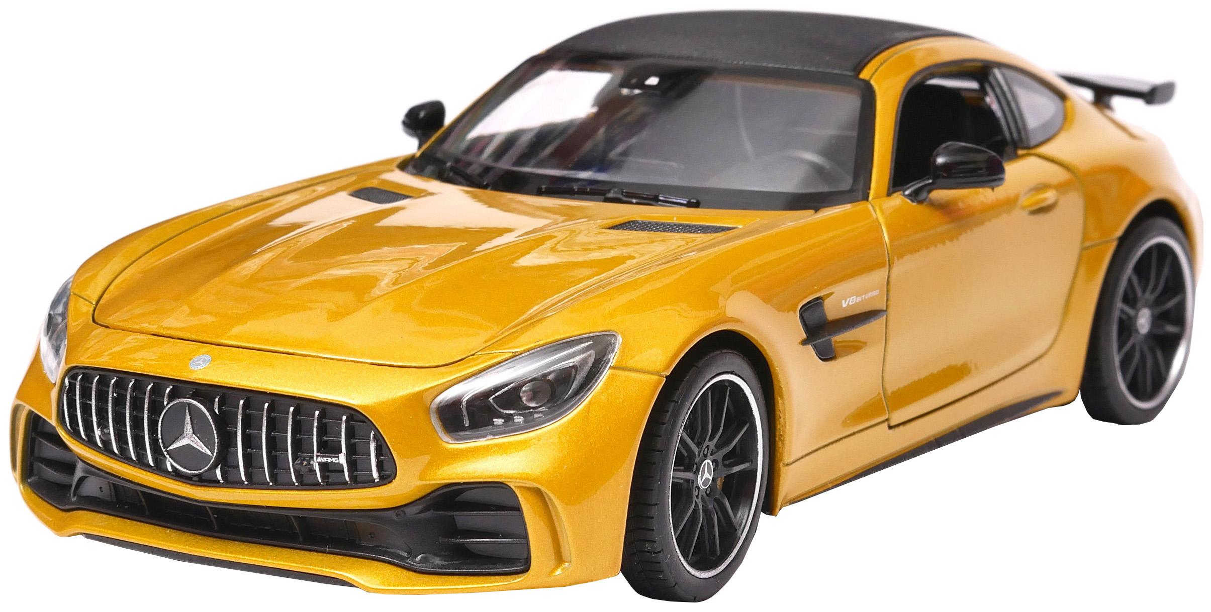 Коллекционная модель Welly Mercedes-Benz AMG GT R 43747 в ассортименте