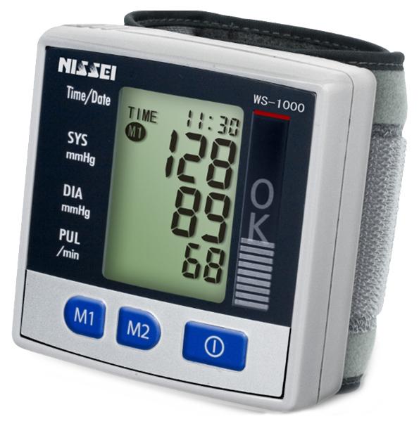 Купить Тонометр Nissei WS-1000 автоматический на запястье