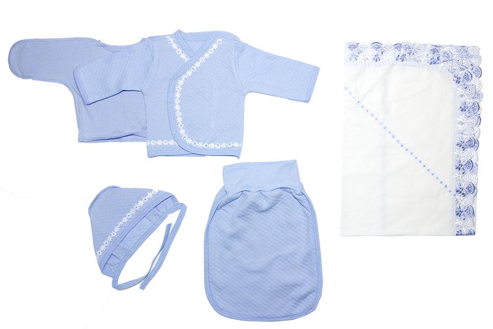 Комплект одежды для мальчиков Осьминожка К-68 голубой р.onesize