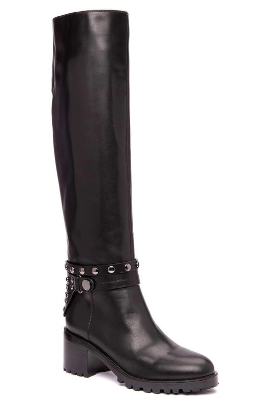 Женские сапоги Vitacci 93202M черные 35