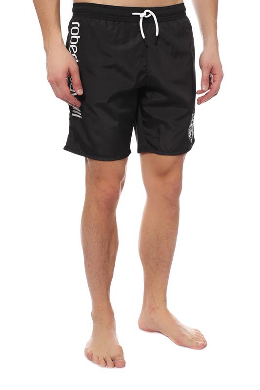 Плавательные шорты мужские Roberto Cavalli черные 4