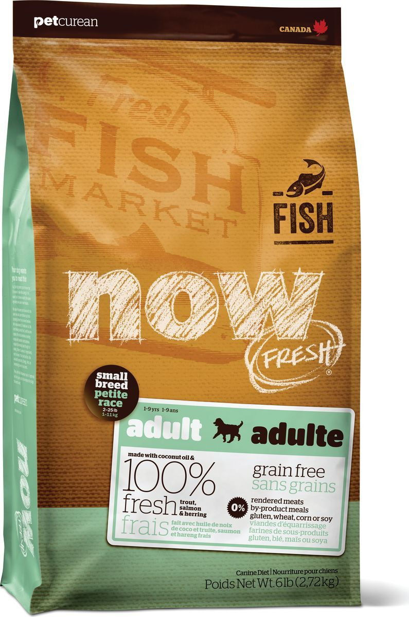 NOW NATURAL HOLISTIC FRESH SMALL BREED ADULT