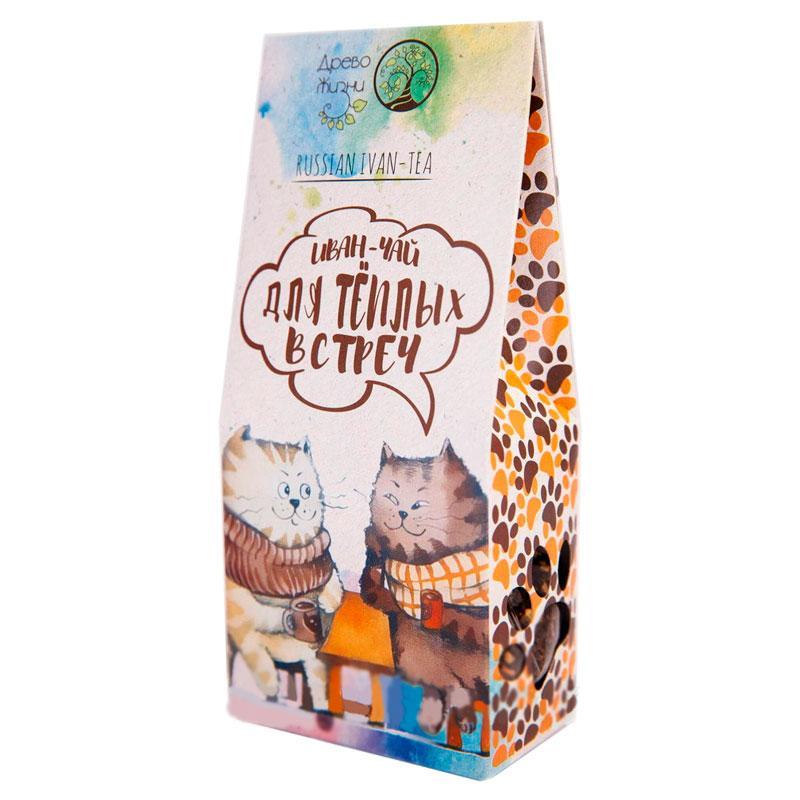Иван-чай Для теплых встреч корица-имбирь-гвоздика-цедра апельсина 50 г