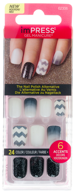 Накладные ногти Kiss Impress Press on Manicure