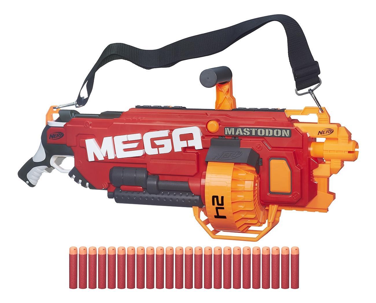 Бластер Nerf Мега Мастодон B8086