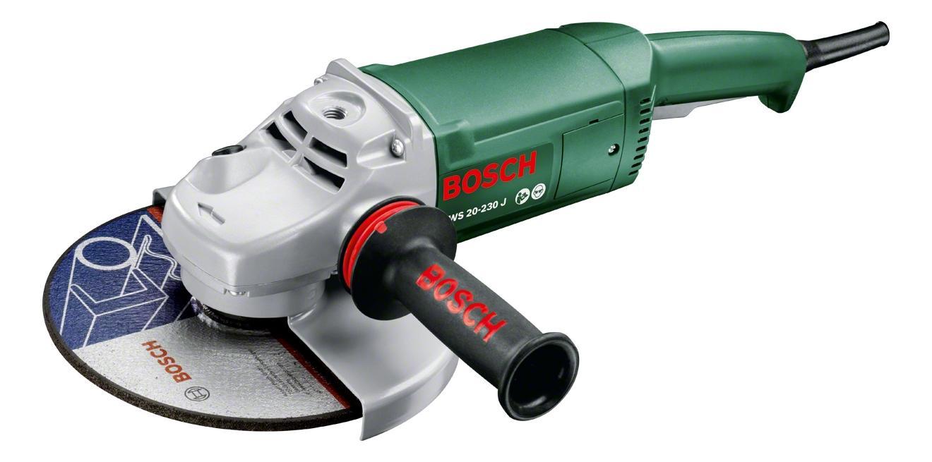 Сетевая угловая шлифовальная машина Bosch PWS 20-230 J 0603359V00