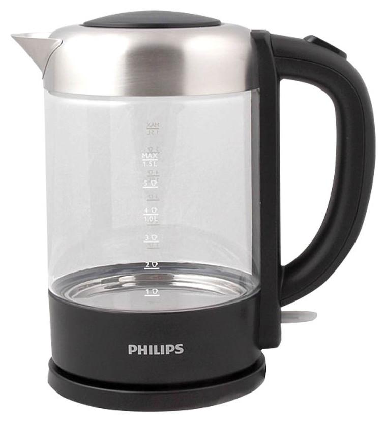 Чайник электрический Philips HD9340/90 Black/Silver