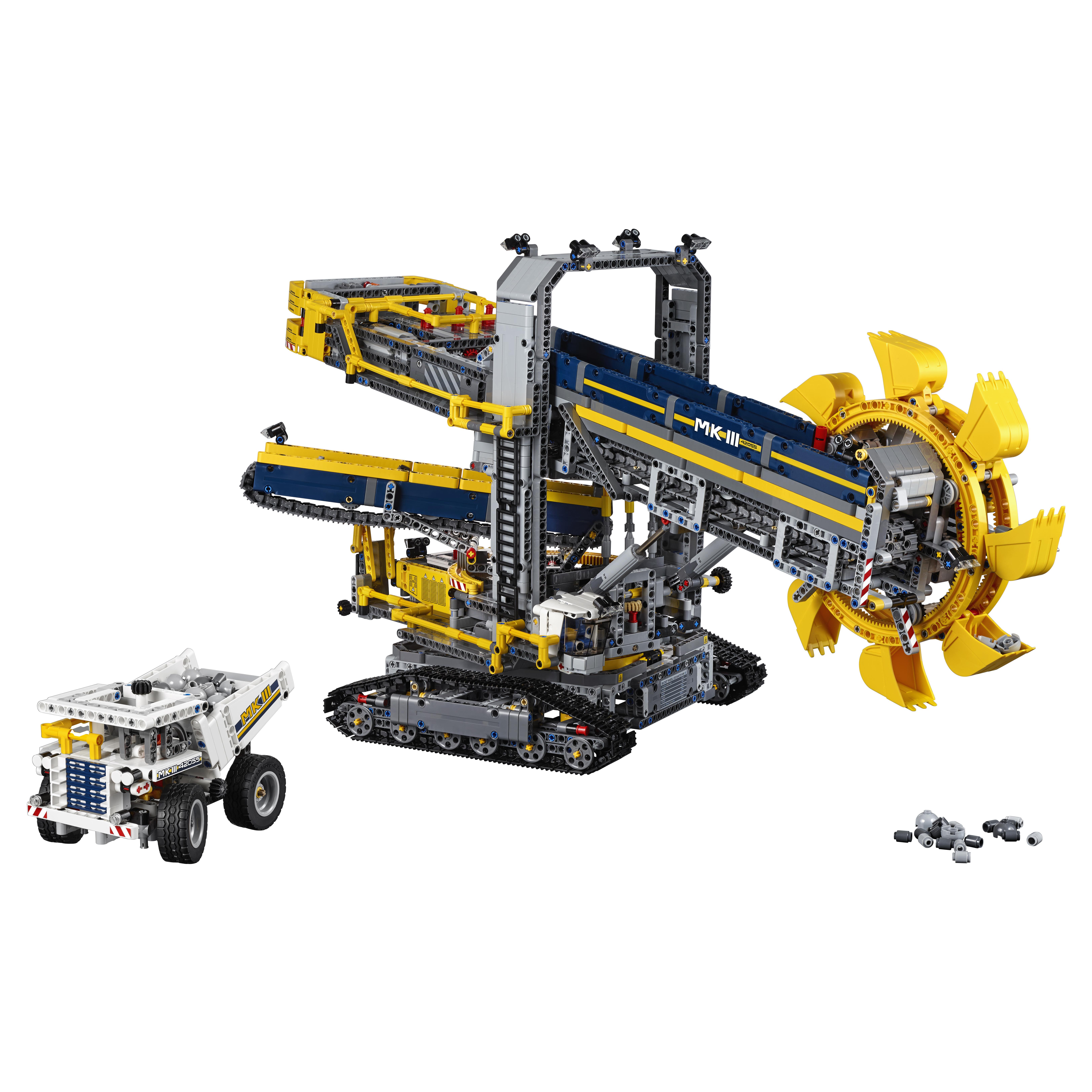 Конструктор LEGO Technic Роторный экскаватор (42055)