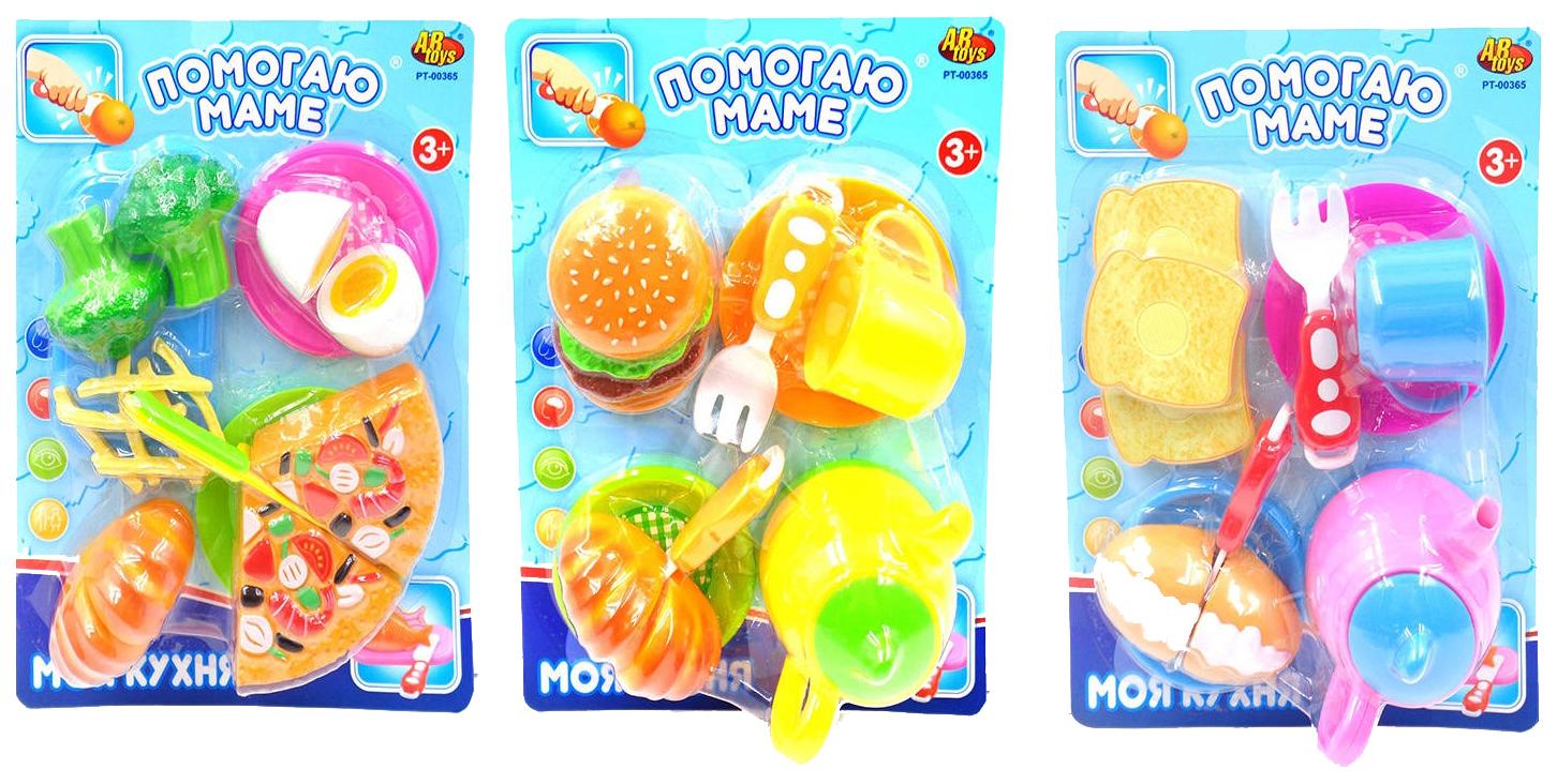 Набор детской посуды ABtoys Помогаю Маме 3 вида в ассортименте фото