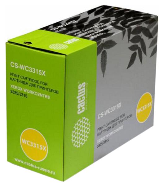 Картридж для лазерного принтера Cactus CS WC3315X