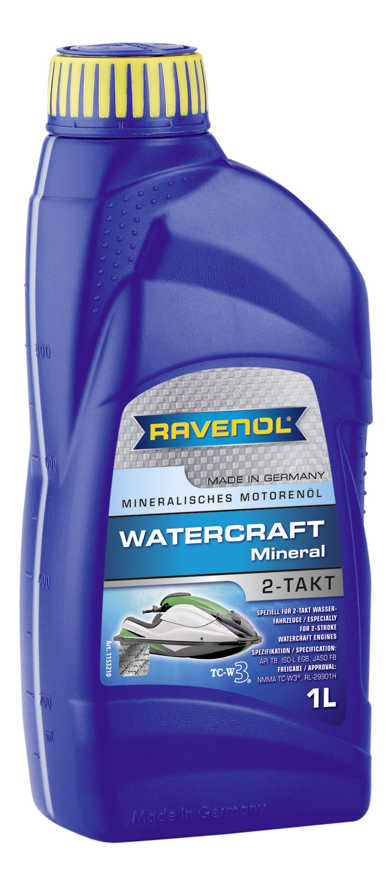 Моторное масло Ravenol Watercraft Mineral 2 Takt