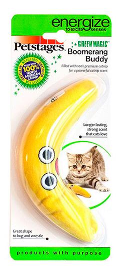 Мягкая игрушка для кошек Petstages, Текстиль, с кошачьей мятой