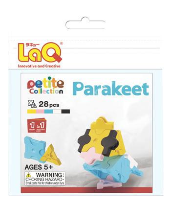 Конструктор пластиковый LaQ Parakeet.
