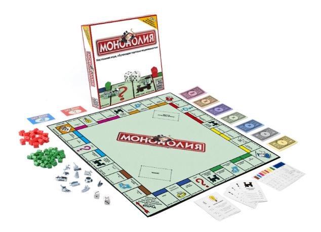 Купить Монополия классическая, Экономическая настольная игра Hasbro Хасбро Монополия Классическая, Экономические настольные игры