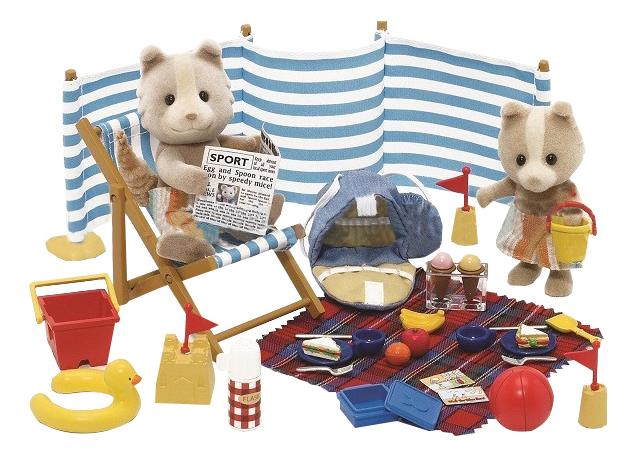 Игровой набор Sylvanian Families EPOCH Sylvanian Families День на море фото