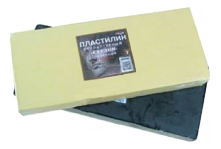 Пластилин Гамма Скульптурный Телесный Т 1Кг