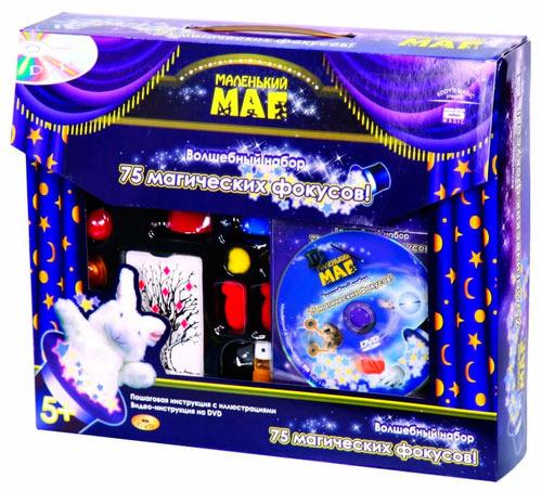 Набор фокусника МАЛЕНЬКИЙ МАГ 75 фокусов (MLM1702