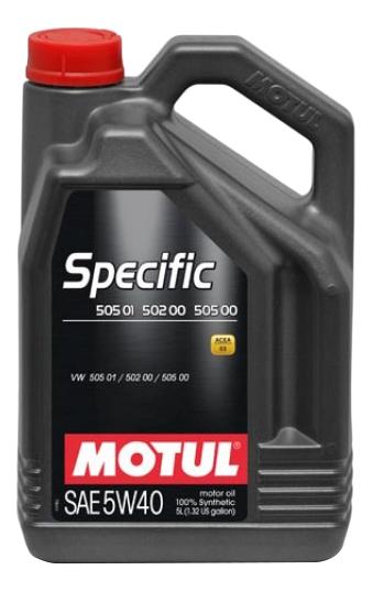 MOTUL SPECIFIC 502 00 / 505 00 / 505 01