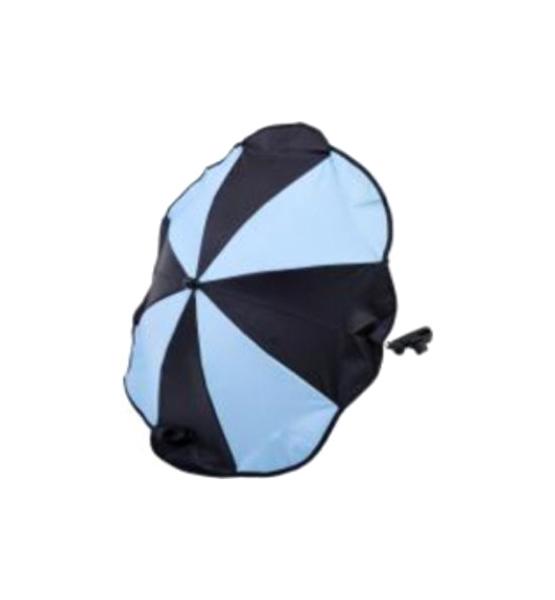 Купить Зонтик для коляски Altabebe AL7001-24 Black Light Blue, Комплектующие для колясок