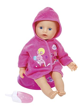 Кукла Zapf Creation Быстросохнущая с горшком и бутылочкой, 32 см фото