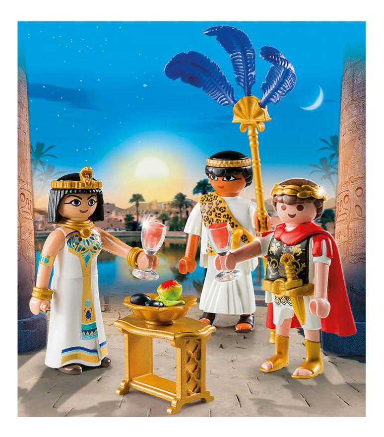 Купить Цезарь и Клеопатра, Игровой набор Playmobil PLAYMOBIL Цезарь и Клеопатра, Игровые наборы