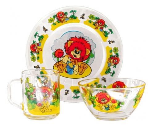 Набор детской посуды Союзмультфильм Львенок и Черепаха
