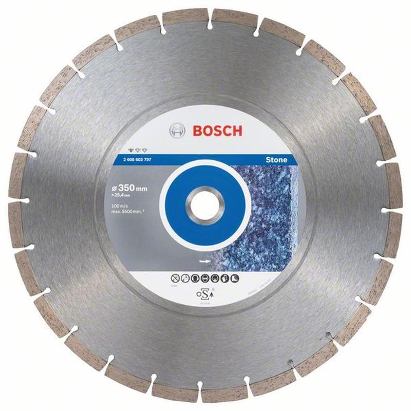 Алмазный диск Bosch Stf Stone 350-25,4 2608603797