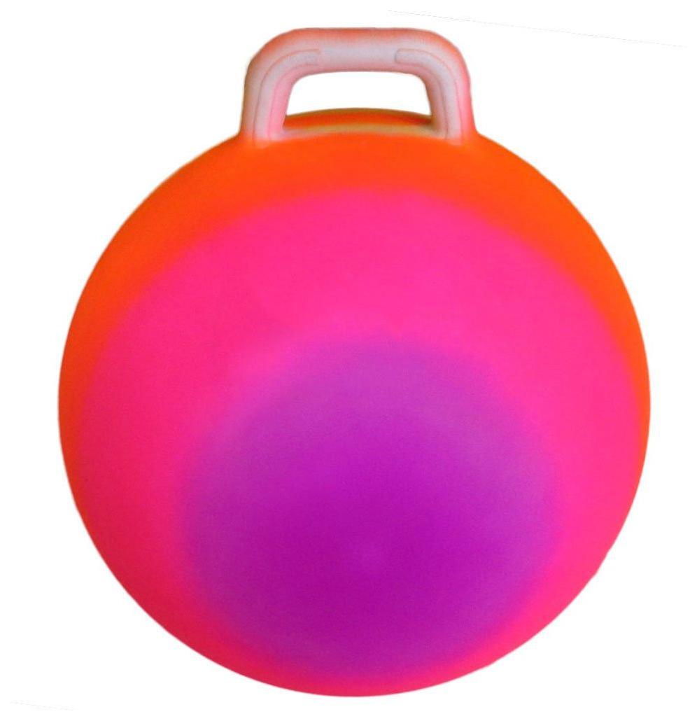 Мяч попрыгун с ручкой 45 см T07535